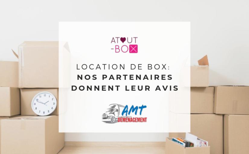 ATOUT-BOX a décidé de laisser la parole à ses partenaires : AMT Déménagement